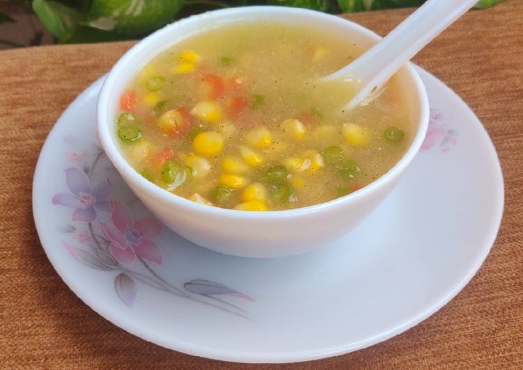 Step-by-Step Guide to Make Ultimate Restaurant Style Sweetcorn Soup