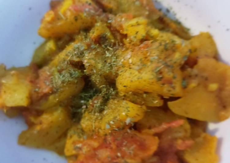 Sweet sour raw papaya