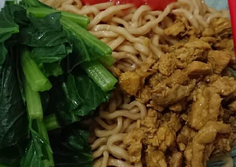 Ayam, Mie Ayam Home Made Simple