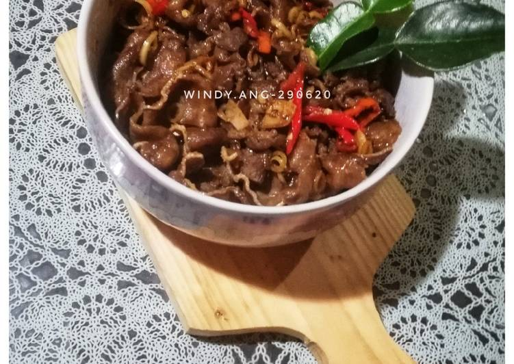 Spicy Lemongrass Beef Tounge - Simple