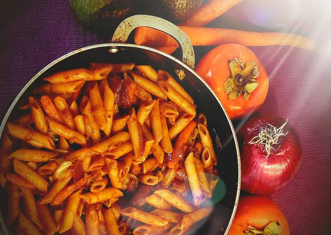 Recipe of Award-winning Red sauce penne pasta