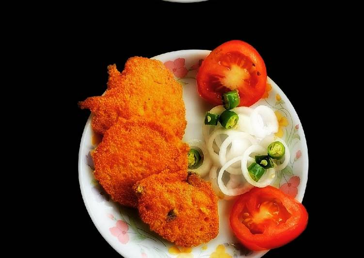 Recipe of Favorite Fish Egg Fritters