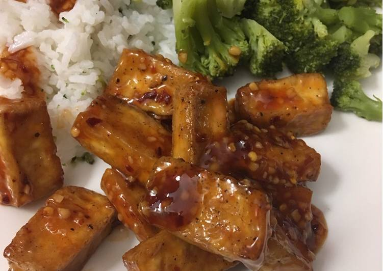 Vegan General Tso's Tofu