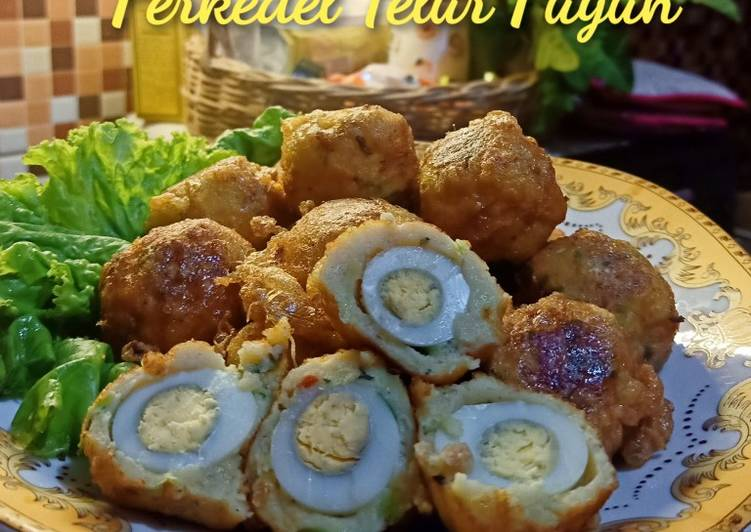 Perkedel Telur Puyuh