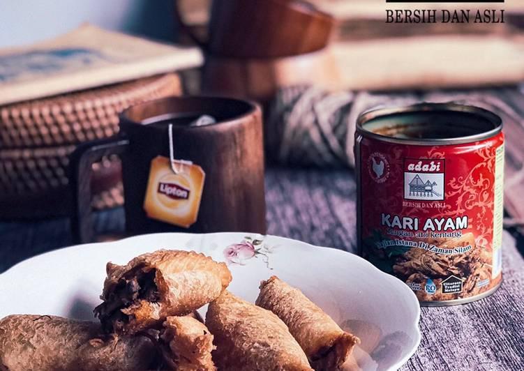 Karipap Roti Kari Ayam Adabi - velavinkabakery.com