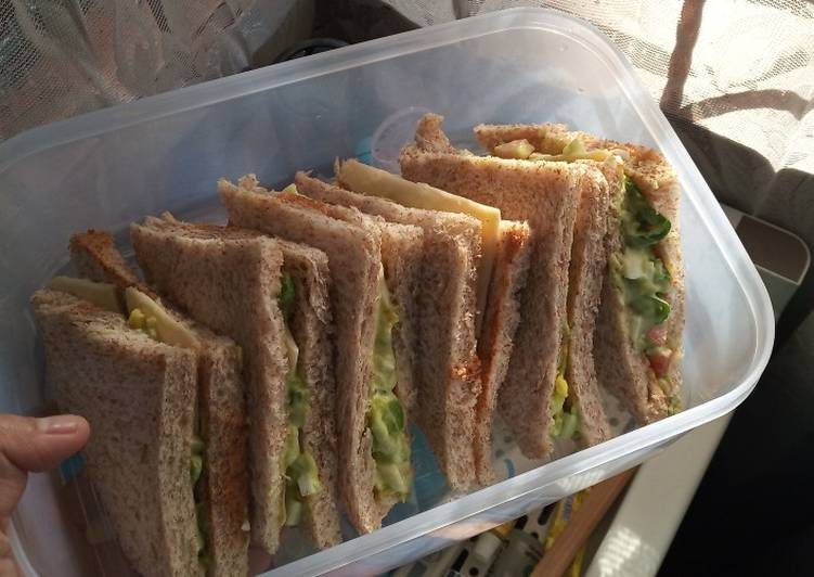 Resep Sandwich Alpukat Simple Favorit
