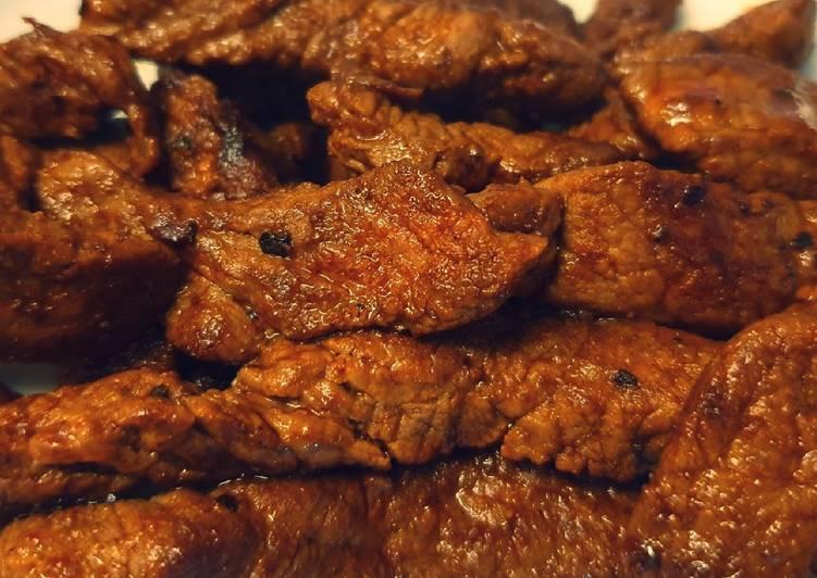 Simple Way to Make Favorite Seasoned Steak Strips