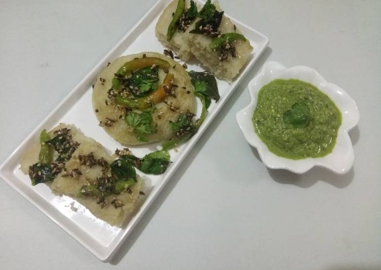 10 Minute Simple Way to Make Homemade Sama rice dhokla