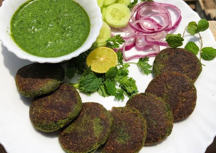 Chicken Hara Bhara Kabab