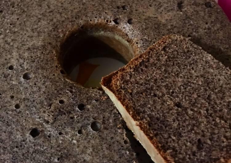 cara menyajikan Bolu Ketan Hitam (anti gagal) - Sajian Dapur Bunda