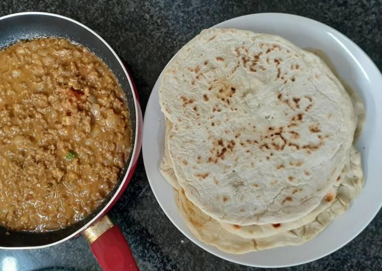 Recipe of Super Quick Homemade Butter tortilla wraps