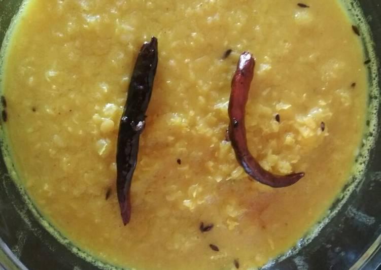 Red lentil fry