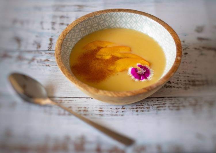 Steps to Make Award-winning Nectarine soup with coconut milk
