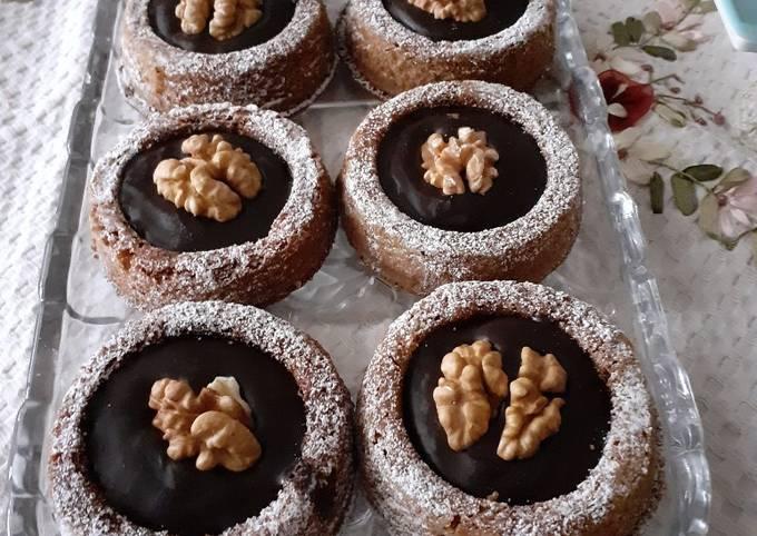 Biscuits à la ganache au chocolat