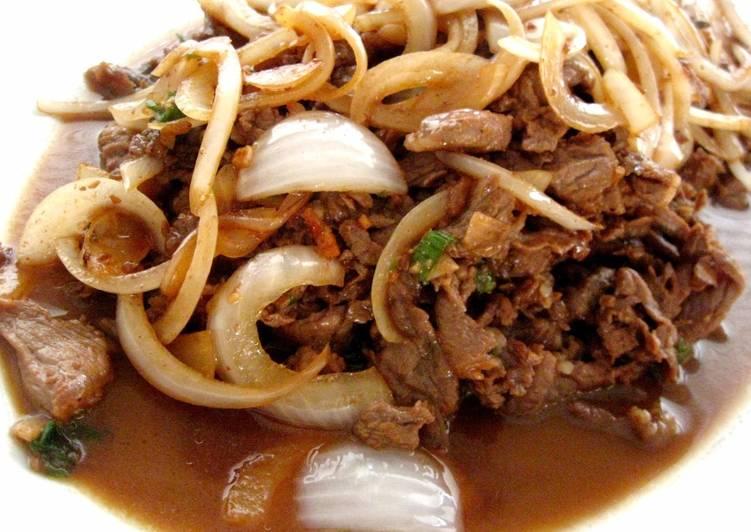 "Bulgogi 불고기 (Korean ""BBQ"") - Twisted Cookbooks - Food ..."