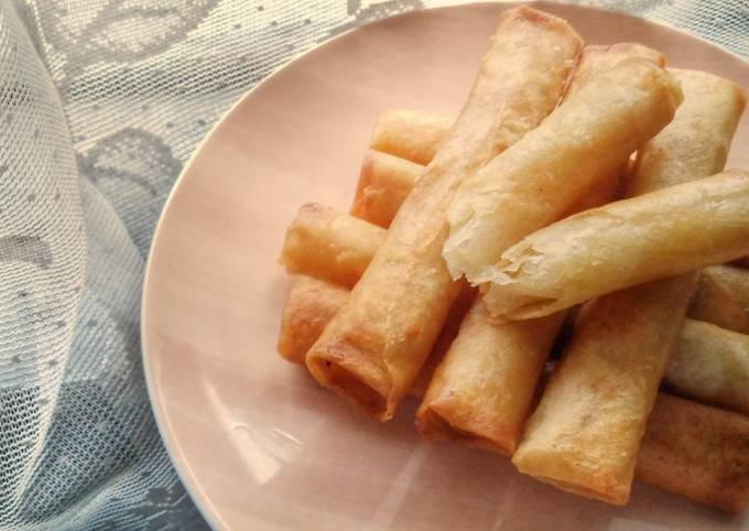 Cheese Spring Rolls