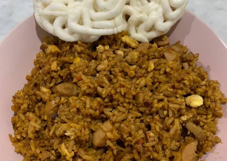 Nasi Goreng Kaki Lima (rasa bintang lima)