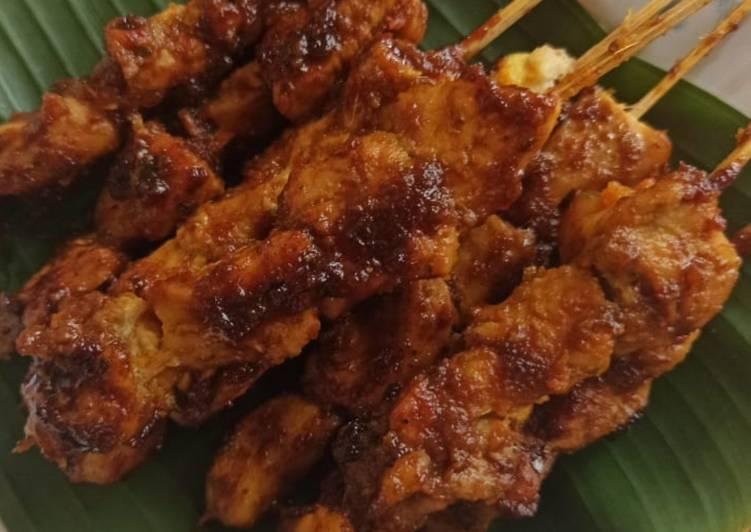 Sate Ayam Bumbu Bali - cookandrecipe.com