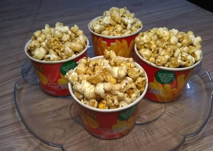 How to Make Perfect Caramel Popcorn Recipe