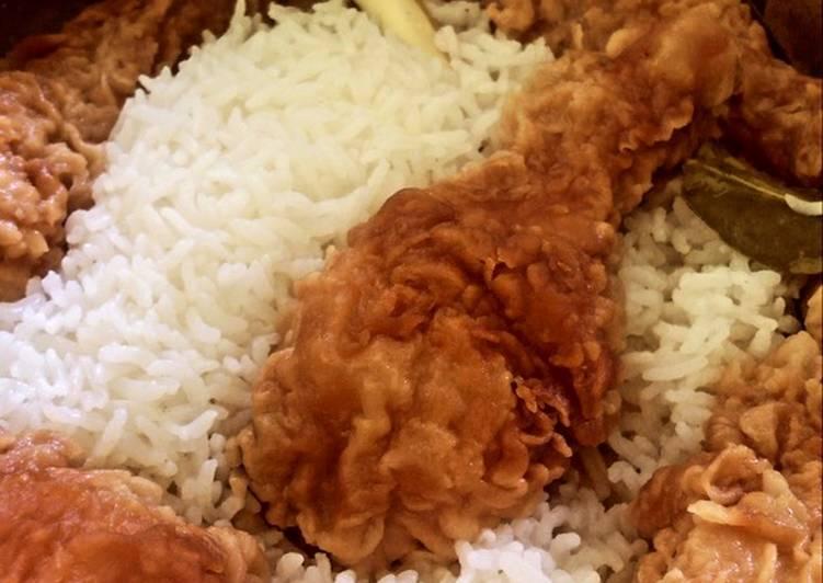Nasi Uduk Ayam KFC
