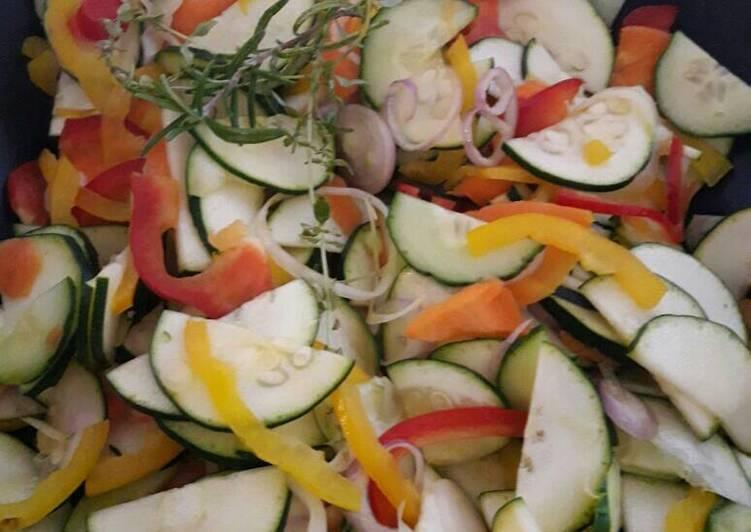 Recette: Délicieux Wok de légumes d 'été soja miel