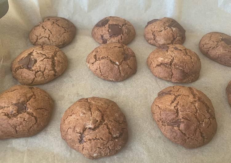 Easiest Way to Make Any-night-of-the-week Buckwheat Chocolate Chip Cookies