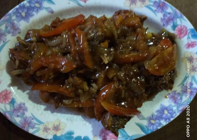 Ayam Tomat Saus Tiram