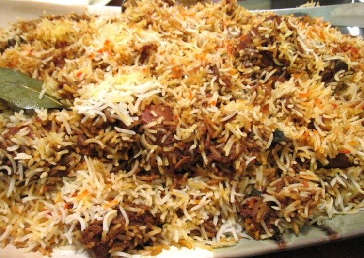 Recipe: Yummy Mutton biryani