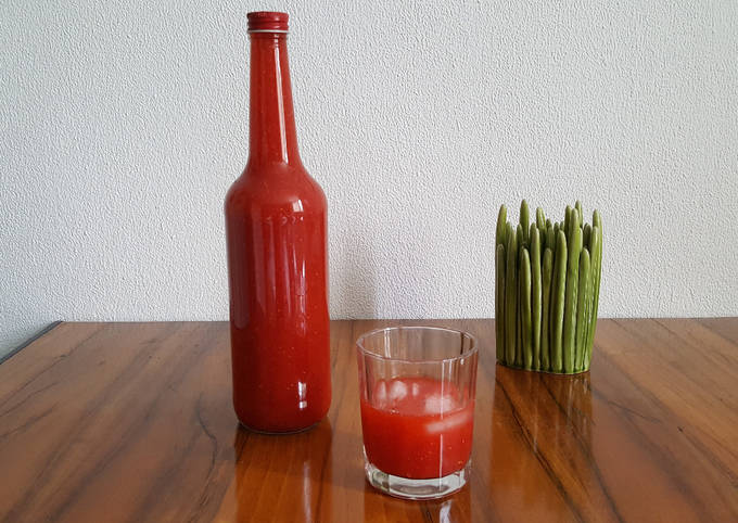 Strawberry Shots (Erdbeer Limes)