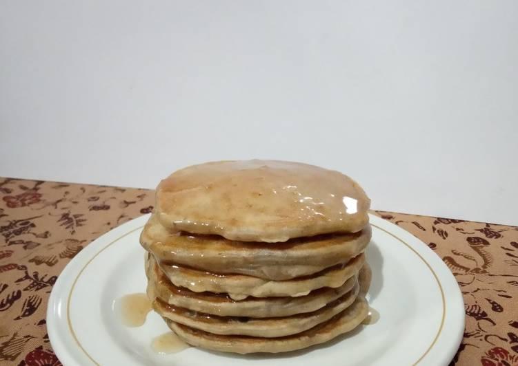 253) Pancake Kulit Pisang