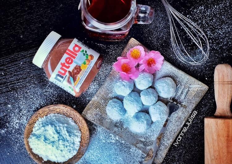 Resep Mochi Nutella Kenyal Enak Oleh Ivonne Cookpad