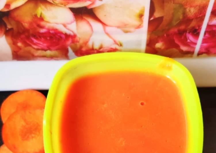 Recipe: Perfect Carrot tomato soup