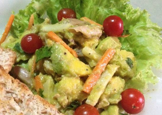 Recipe: Appetizing Avocado Chicken – salad topping filling