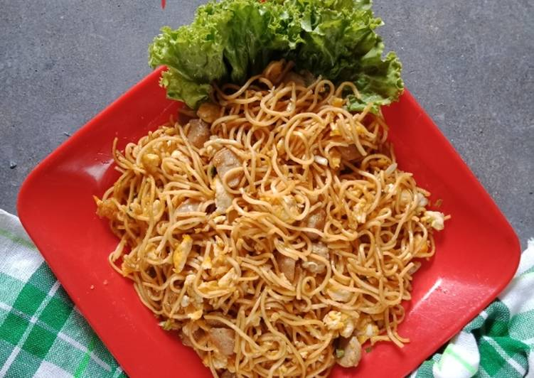 Mi goreng tek tek simple