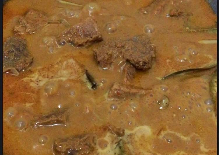 #12 Rendang Daging aseli Minang