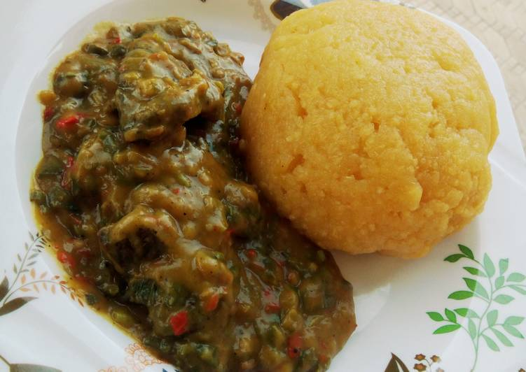 5 Minute Steps to Make Spring Cocoyam Soup