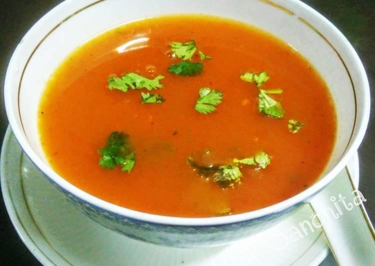 How to Prepare Delicious Tomato Coriander Healthy Soup