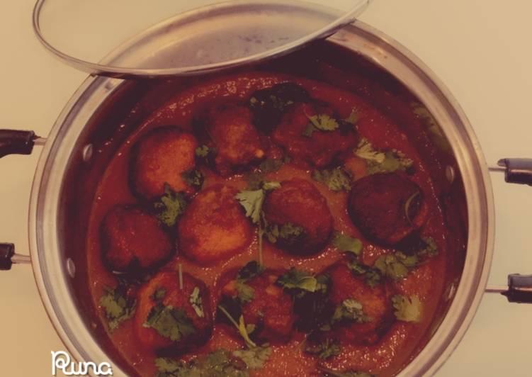 Talapia Fish Ball in Peri Peri Curry