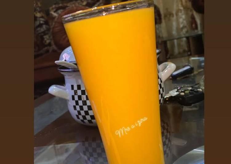 Simple Way to Make Perfect Mango juice