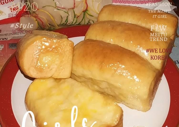 Roti Keset Mentega (No Milk Powder)