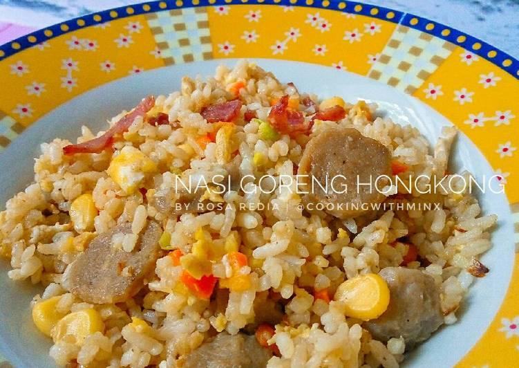 Resep Nasi Goreng Hongkong Terbaik