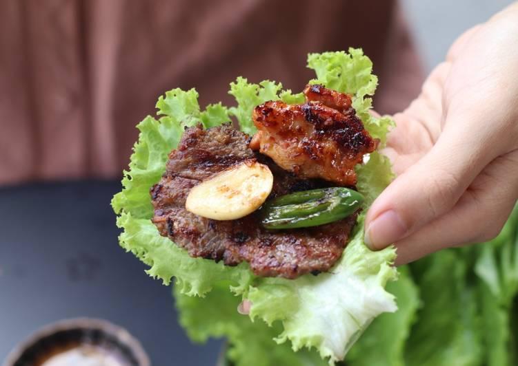 Cara mudah membuat Korean BBQ ala Restoran: Enak Ekonomis Bisa Dijual!