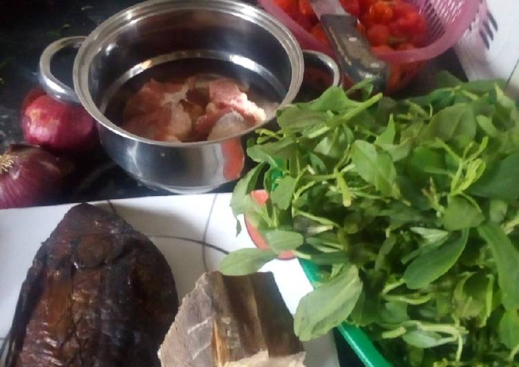 Recipe of Ultimate Afang soup