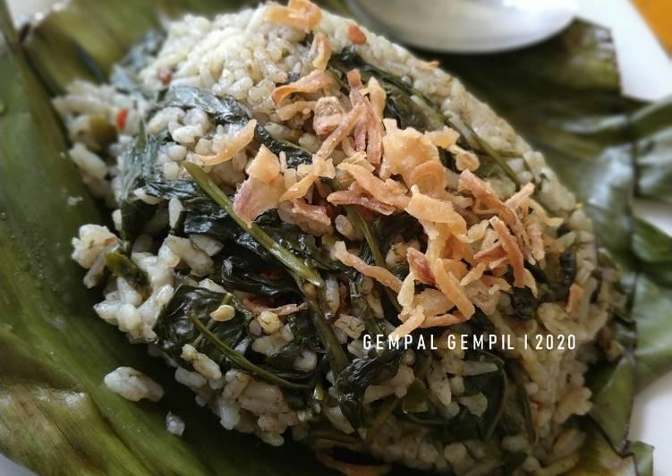 Nasi Bakar Kangkung