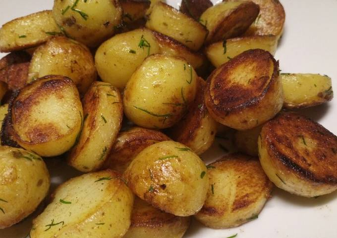 Fluffy's fried potatoes
