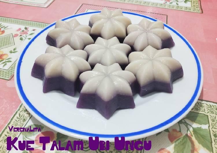Kue Talam Ubi Ungu