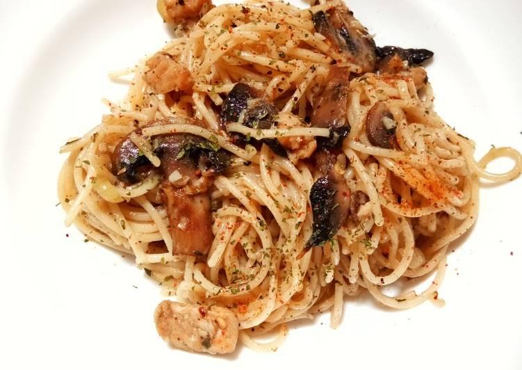 Resep Spaghetti Tuna Jamur Aglio e Olio Top
