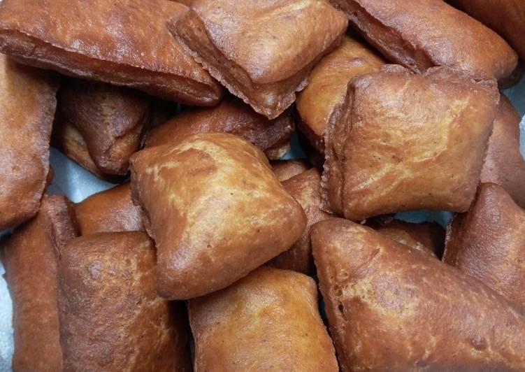 Steps to Prepare Cinnamon mini mandazi