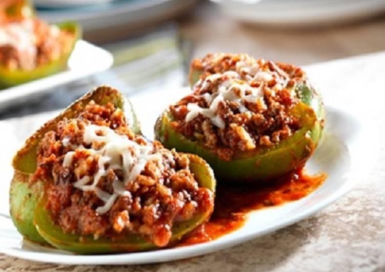 Easy Italian Stuffed Peppers