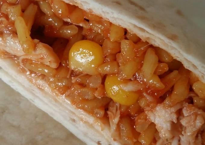 Vickys BBQ Chicken Burritos, GF DF EF SF NF